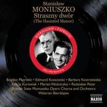 Stanislaw Moniuszko (1819-1872): Straszny dwvor (The Haunted Manor), 2 CDs