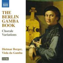 Dietmar Berger - The Berlin Gamba Book (Choral-Variationen), 2 CDs