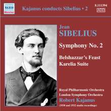 Kajanus conducts Sibelius Vol.2, CD