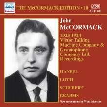 John McCormack-Edition Vol.10 / Victor Talking Machine Company Recordings 1923-1924, CD