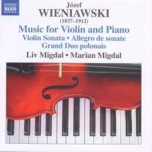 Josef Wieniawski (1837-1912): Werke für Violine & Klavier, CD