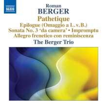Roman Berger (geb. 1930): Pathetique, CD