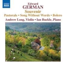 Edward German (1862-1936): Werke für Violine & Klavier, CD
