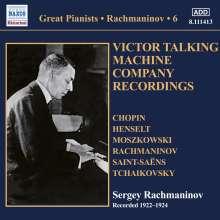 Sergej Rachmaninoff - Victor Talking Machine Company Recordings, CD