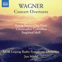 Richard Wagner (1813-1883): Ouvertüren, CD