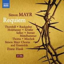 Johann Simon (Giovanni Simone) Mayr (1763-1845): Requiem, 2 CDs