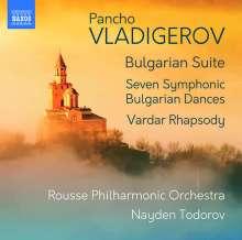 Pancho Vladigerov (1899-1978): Orchesterwerke, CD