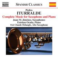 Pedro Iturralde (1929-2020): Sämtliche Werke für Saxophon und Klavier, CD