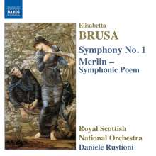 Elisabetta Brusa (geb. 1954): Symphonie Nr.1, CD