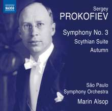 Serge Prokofieff (1891-1953): Symphonie Nr.3, CD