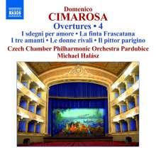 Domenico Cimarosa (1749-1801): Ouvertüren Vol.4, CD