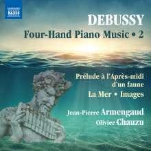 Claude Debussy (1862-1918): Klavierwerke zu vier Händen Vol.2, CD