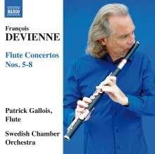 Francois Devienne (1759-1803): Flötenkonzerte Nr.5-8, CD