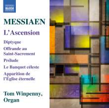 Olivier Messiaen (1908-1992): L'Ascension, CD
