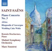 Camille Saint-Saens (1835-1921): Klavierkonzert Nr.3, CD