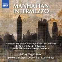 Jeffrey Biegel - Manhattan Intermezzo, CD