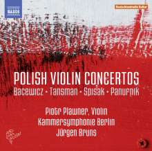 Polish Violin Concertos, CD
