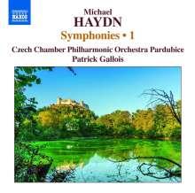 Michael Haydn (1737-1806): Symphonien Vol.1, CD
