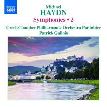 Michael Haydn (1737-1806): Symphonien Vol.2, CD