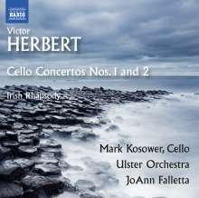 Victor Herbert (1859-1924): Cellokonzerte Nr.1 & 2, CD