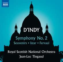 Vincent d'Indy (1851-1931): Symphonie Nr.2 op.57, CD