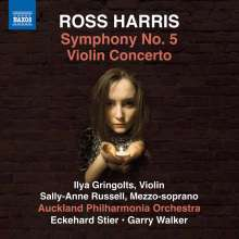 Ross Harris (geb. 1945): Symphonie Nr.5, CD