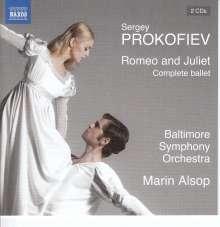 Serge Prokofieff (1891-1953): Romeo & Julia-Ballettmusik op.64a, 2 CDs