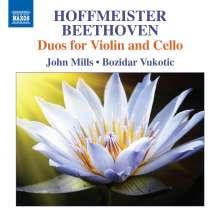 Franz Anton Hoffmeister (1754-1812): Duos für Violine & Cello op.6 Nr.1-3, CD