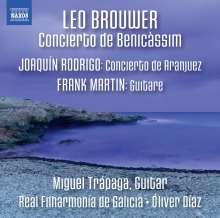 Leo Brouwer (geb. 1939): Concierto de Benicassim für Gitarre & Orchester, CD