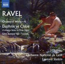 Maurice Ravel (1875-1937): Orchesterwerke Vol.4, CD