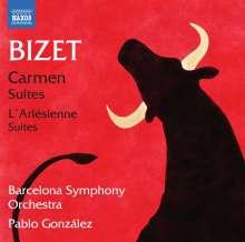 Georges Bizet (1838-1875): Carmen-Suiten Nr.1 & 2, CD