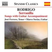 Joaquin Rodrigo (1901-1999): Lieder mit Gitarre, CD