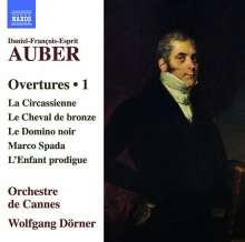 Daniel-Francois-Esprit Auber (1782-1871): Ouvertüren Vol.1, CD