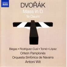Antonin Dvorak (1841-1904): Messe op.86, CD