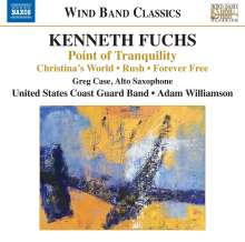"""Kenneth Fuchs (geb. 1956): Werke für Blasorchester """"Point of Tranqulity"""", CD"""