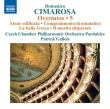 Domenico Cimarosa (1749-1801): Ouvertüren Vol.5, CD