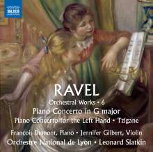 Maurice Ravel (1875-1937): Orchesterwerke Vol.6, CD