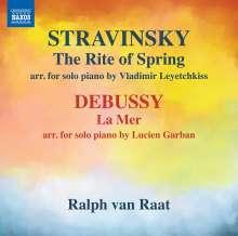 Igor Strawinsky (1882-1971): Le Sacre du Printemps (Fassung für Klavier), CD
