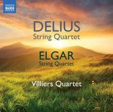 Frederick Delius (1862-1934): Streichquartette e-moll (1917 & 1918), CD