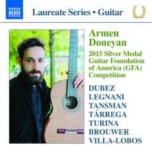 Armen Doneyan - Guitar Recital, CD