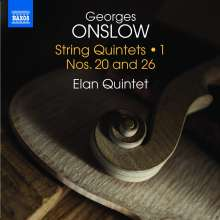 Georges Onslow (1784-1852): Streichquintette Vol.1, CD