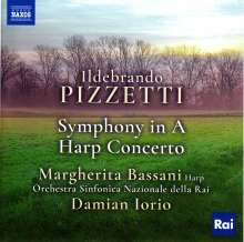 Ildebrando Pizzetti (1880-1968): Symphonie in A, CD