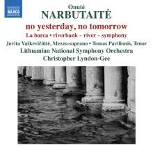 Onute Narbutaite (geb. 1956): Riverband - River - Symphony, CD