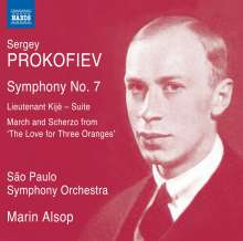 Serge Prokofieff (1891-1953): Symphonie Nr.7, CD