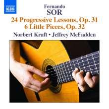 Fernando Sor (1778-1839): Etüden op.31 Nr.1-24, CD