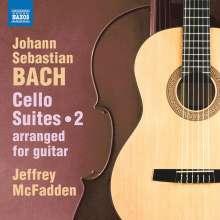 Johann Sebastian Bach (1685-1750): Cellosuiten arrangiert für Gitarre Vol.2, CD