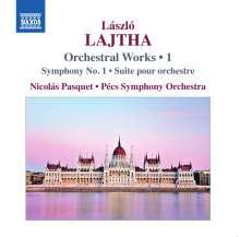 Laszlo Lajtha (1892-1963): Symphonie Nr.1, CD