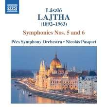 Laszlo Lajtha (1892-1963): Symphonien Nr.5 & 6, CD