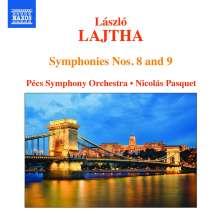 Laszlo Lajtha (1892-1963): Symphonien Nr.8 & 9, CD