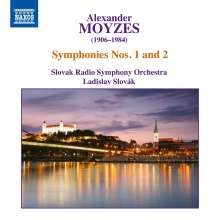 Alexander Moyzes (1906-1984): Symphonien Nr.1 & 2, CD